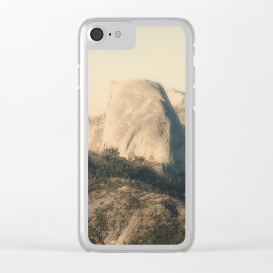 Half Dome IX Clear iPhone Case