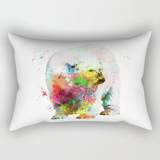 Bear painting Rectangular Pillow