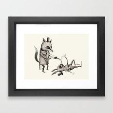 'Excessmas - Part 2' Framed Art Print