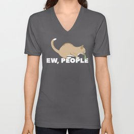 EW, PEOPLE Unisex V-Neck