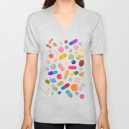 Sunny Pills Unisex V-Neck