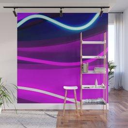 Neon Wonder Wall Mural