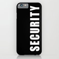 SECURITY TEE SHIRT Slim Case iPhone 6s