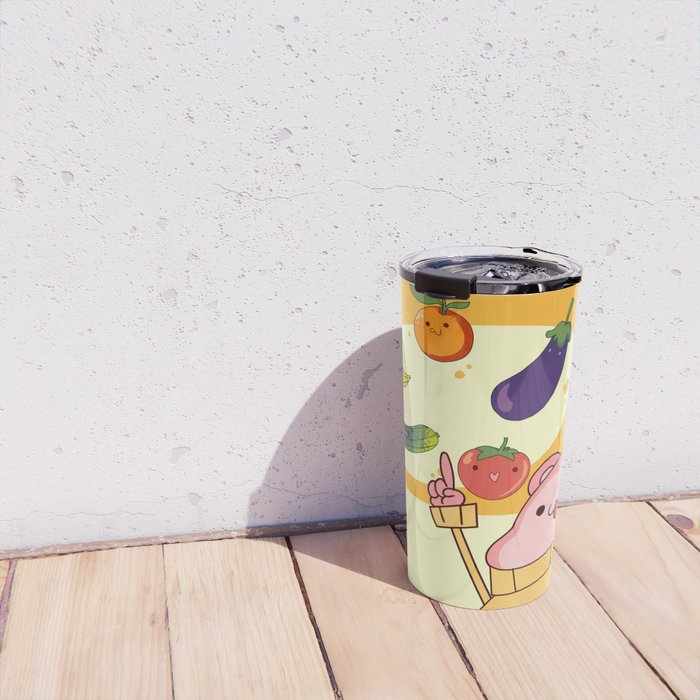 5 Fruits & Vegetables (Peepoodo) Travel Mug