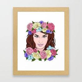 Jamala Framed Art Print