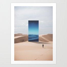 It's All Mirage Art Print
