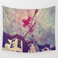 Wires Wall Tapestry
