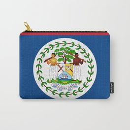 flag of belize-Belice, Belizean,Belize City,beliceno,Belmopan Carry-All Pouch