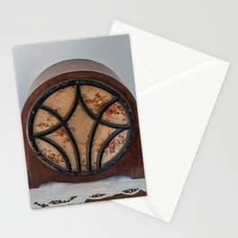 antique intercom used in the kitchens of a historic residence Stationery Cards