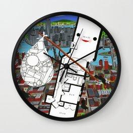 """Open Concept""  Wall Clock"