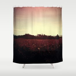 familiar Shower Curtain