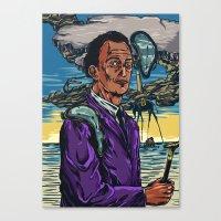 dali Canvas Prints featuring Dali  by Nicolae Negura