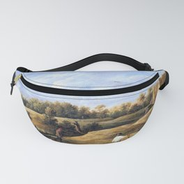 12,000pixel-500dpi - The Archery Contest - David Teniers the Younger Fanny Pack