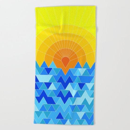 Sun & Sea Beach Towel