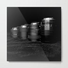 Four Lenses Metal Print