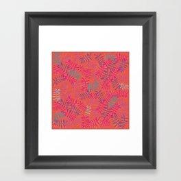 Havanna Nights Pattern Framed Art Print