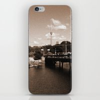 island iPhone & iPod Skins featuring island by Christophe Chiozzi