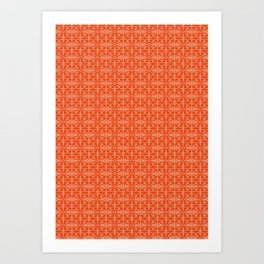 Geometric Pattern #013 Art Print