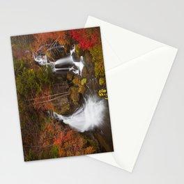 Ryuzu Falls near Nikko, Japan in autumn Stationery Cards