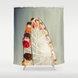 Santa Monica Pier Shower Curtain