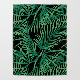 Tropical pattern. Poster