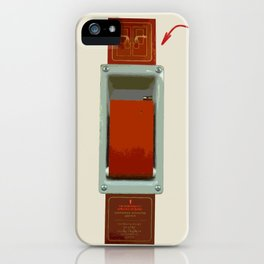 Just pull and go! iPhone Case