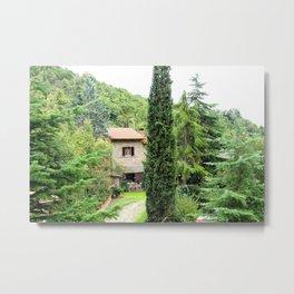 Tuscany.Italy.Rustic farmhouse. Metal Print