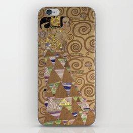 Gustav Klimt - Expectation iPhone Skin