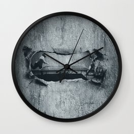 Ping Pong Abstract Wall Clock