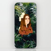 ultraviolence iPhone & iPod Skins featuring Lana Deadly Nightshade by Balans