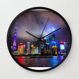 Blinded By The Light Wall Clock