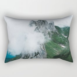 Flower Mountain in Switzerland - Landscape Photography Rectangular Pillow