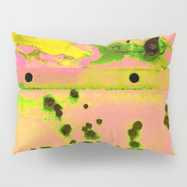 Riddled with Rust Passionfruit Pillow Sham