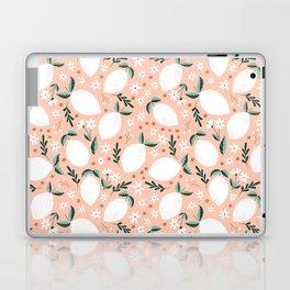 Summer Lemons on Pink Laptop & iPad Skin