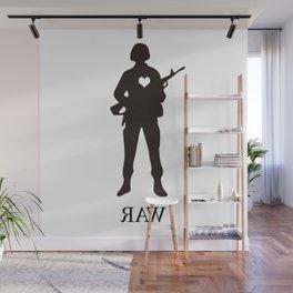 Raw Love Wall Mural