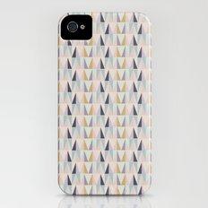 Multi-Pastel Triangles Slim Case iPhone (4, 4s)