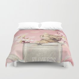 sweet kitty Duvet Cover