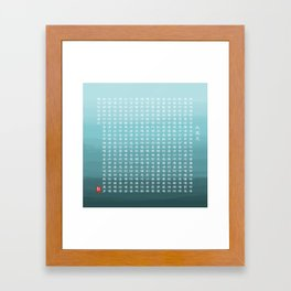 The Great Compassion Mantra (大悲咒) Framed Art Print