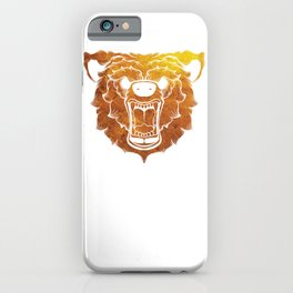 The Gold Bear iPhone Case