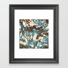 Bold abstract print for spring summer fashion Framed Art Print