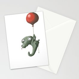Crocodile in Trouble Stationery Cards