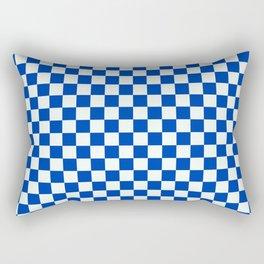 Blue Boy (check) Rectangular Pillow