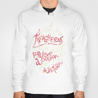 paper towns Hoodies featuring Paper Towns- Treacherous by deducktion