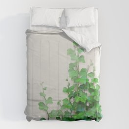 By the wall Comforters