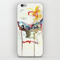 no face iPhone & iPod Skins featuring Face by Kazefer