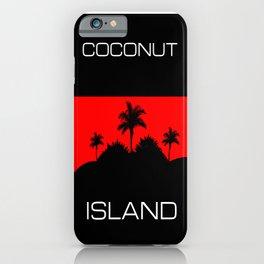 Coconut Island iPhone Case