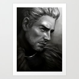 Dragon Age - Cullen Art Print