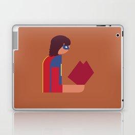 Ms Lady Reads Laptop & iPad Skin