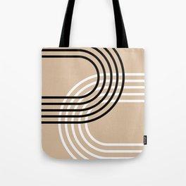 Counterbalance - neutrals Tote Bag
