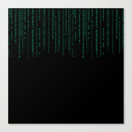Binary Top Down Canvas Print